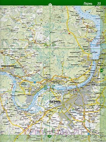 Карта Краснокамска Со Спутника